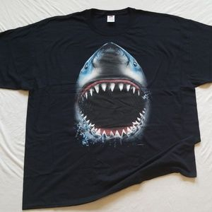 Shark Week Tshirt Shark Bite Jaws Men's Tee